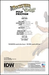 Rocketeer / The Spirit: Pulp Friction Preview 2