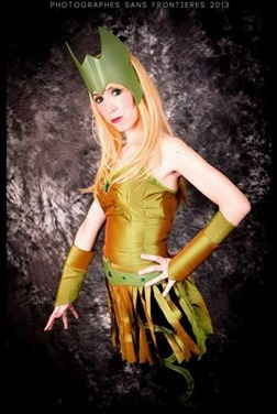 Romi Lia as Amora a.k.a Enchantress (Photo by Fernando Brischetto)
