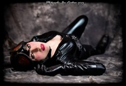 Romi Lia as Catwoman - Selina Kyle (Photo by Fernando Brischetto)