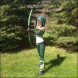Ashe Rogue as Femme Green Arrow