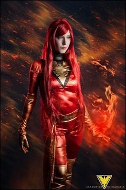 Romi Lia as Jean Grey (Dark Phoenix - X-Men) (Photo by Estampida Fotografia)