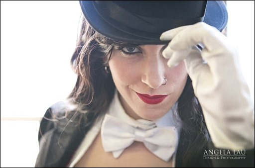 Ashe Rogue as Zatanna (Photo by Angela Lau)
