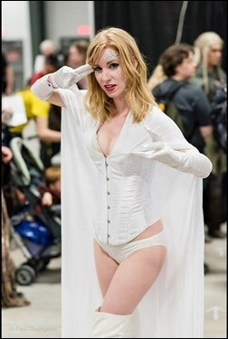 Ashe Rogue as Emma Frost - The White Queen