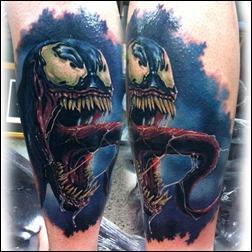 Venom tattoo