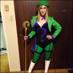 Ashe Rogue as Riddler