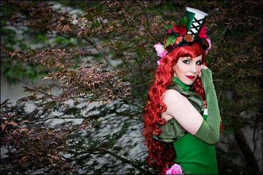 Ashe Rogue as Poison Ivy designed by NoFlutter (Photo by Angel Lau)