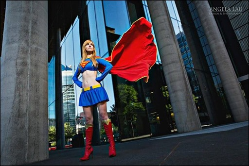 Ashe Rogue as Supergirl (Photo by Angela Lau)