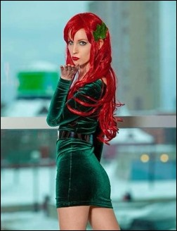 Ashe Rogue as Poison Ivy