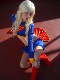 Romi Lia as Supergirl - Kara Zor-El (Photo by Martin Hegre)