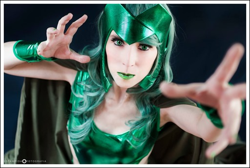 Romi Lia as Polaris (Photo by Estampida Fotografia)