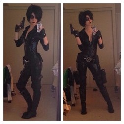 Ashe Rogue as Domino
