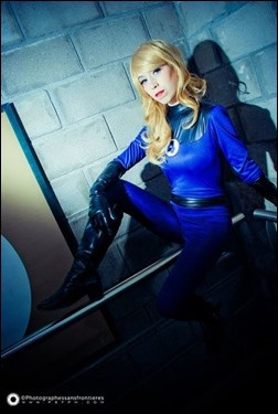 Romi Lia as Sue Storm Richards (Photo by Adrian Ummo)