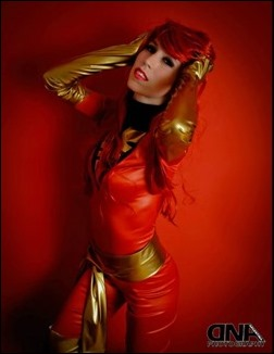 Romi Lia as Jean Grey (Dark Phoenix - X-Men) (Photo by Martin Hegre)