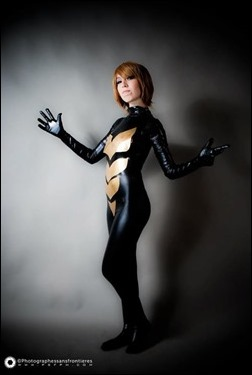 Romi Lia as Wasp - Janet Van Dyne (Photo by Adrian Ummo)