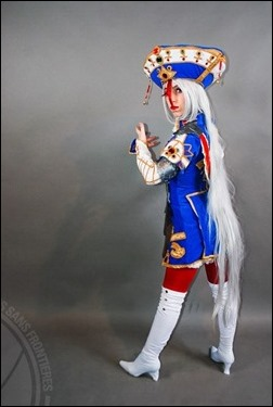 Romi Lia as Astharoshe Asran - Trinity Blood (Photo by Adrian Ummo)