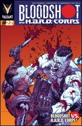 Bloodshot and H.A.R.D. Corps #22 Cover - LaRosa