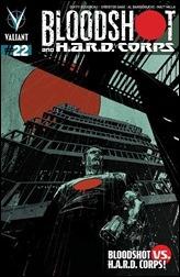 Bloodshot and H.A.R.D. Corps #22 Cover - De La Torre