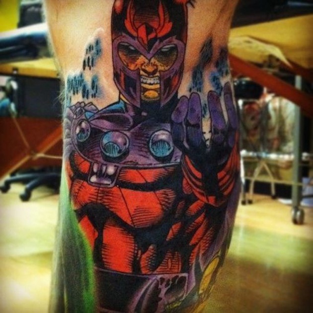 Comic Book Tattoo 10