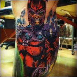 Magneto tattoo