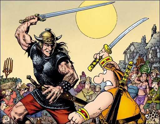 Groo vs Conan #1
