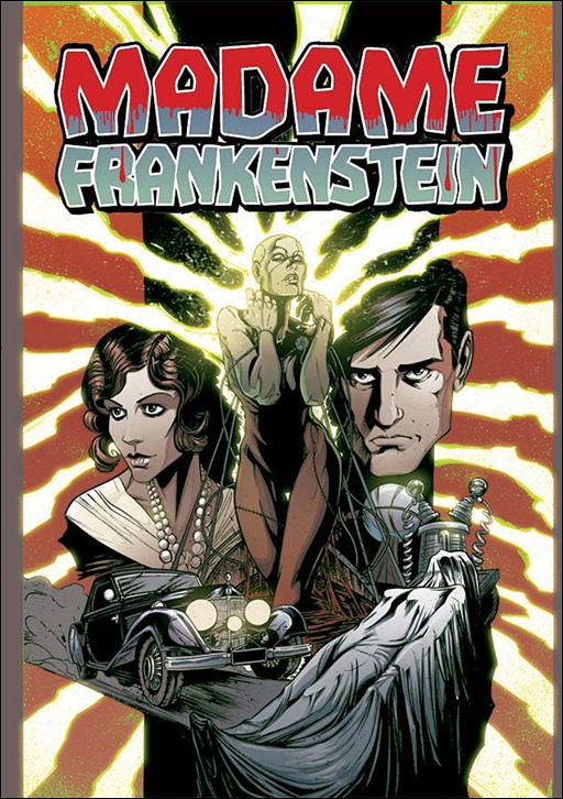 Madame Frankenstein #1 Cover