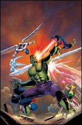 Savage Hulk #1 Cover - Cassaday Variant