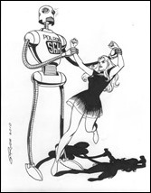 Steve Rude - robot