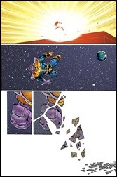 Thanos Annual #1 Preview 2