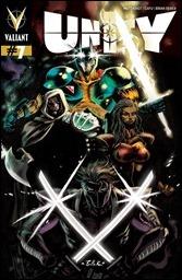 Unity #7 Cover - Bullock Variant