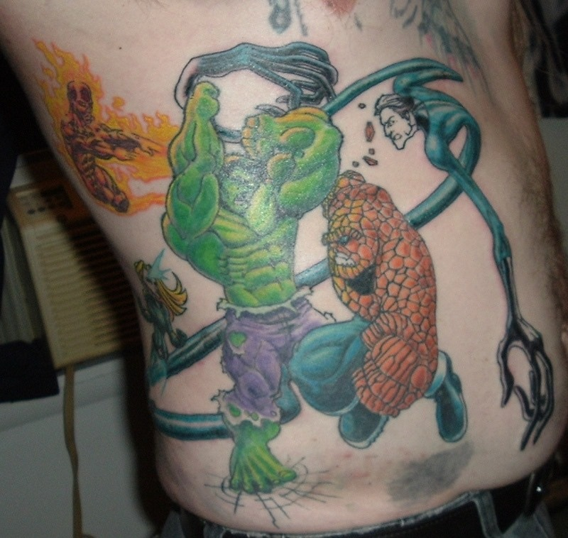 comic book tattoo 32