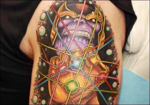Infinity Gauntlet Tattoo