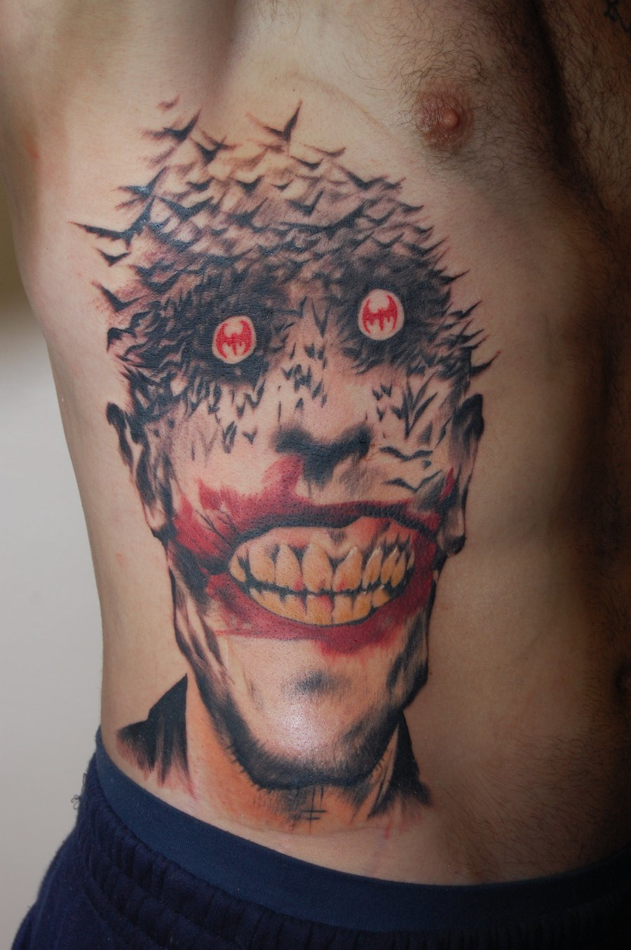 35 amazing comic book tattoos for The joker tattoo