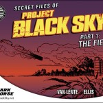 Dark Horse Announces PROJECT BLACK SKY in Time For FCBD 2014