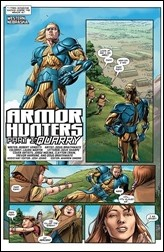 Armor Hunters #1 Preview 2