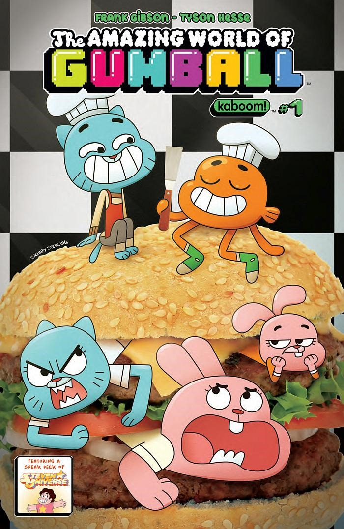 Preview: The Amazing World Of Gumball #1 By Gibson & Hesse
