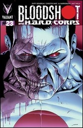 Bloodshot and H.A.R.D. Corps #23 Cover B - Perez