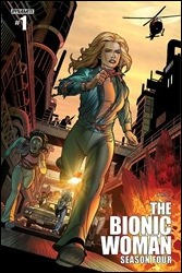 The Bionic Woman: Season Four #1 Cover - Chen