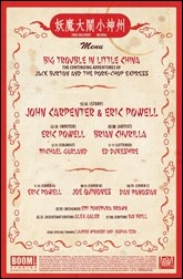 Big Trouble in Little China #2 Preview 1