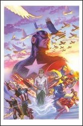 Captain America #22 Cover - Alex Ross Variant
