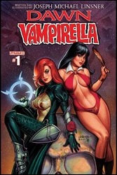 Dawn/Vampirella #1 Cover