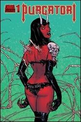 Purgatori #1 Cover - Strahm