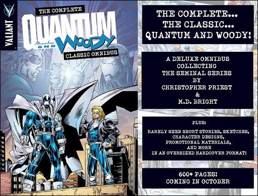 THE COMPLETE QUANTUM AND WOODY CLASSIC OMNIBUS HC