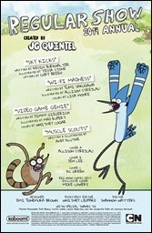 Regular Show 2014 Annual Preview 1