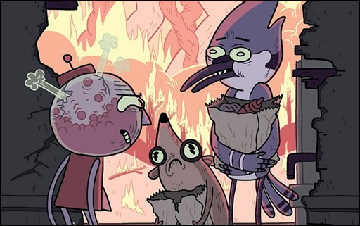 Regular Show 2014 Annual