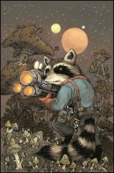 Rocket Raccoon #1 Cover - Petersen Variant