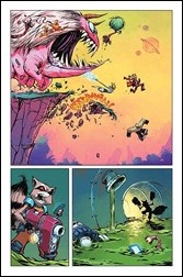 Rocket Raccoon #1 Preview 3