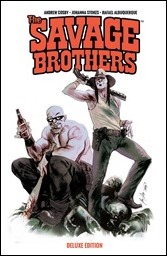 The Savage Brothers Deluxe Edition TP Cover