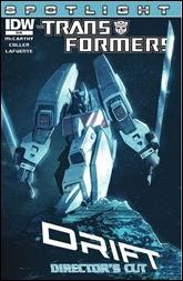 Transformers: Spotlight Drift Director's Cut Cover