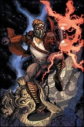 The Legendary Star-Lord #1 Cover - Bradshaw Variant