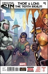 Thor & Loki: The Tenth Realm #1 Cover